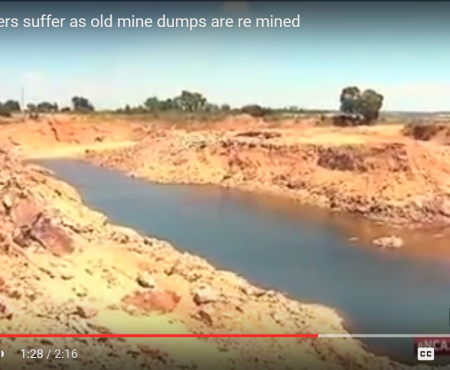 Krugersdorpers suffer as old mine dumps are re mined